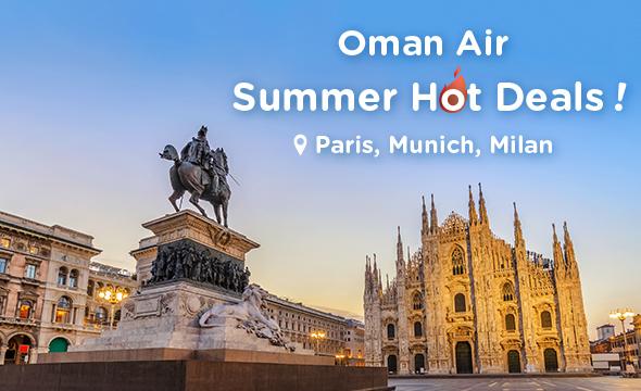 Oman Air Summer HOT Deals